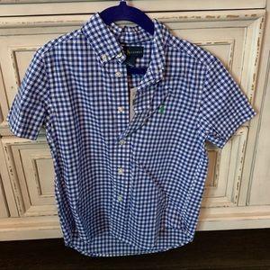 NWT Polo Ralph Lauren short sleeve button up- Boys